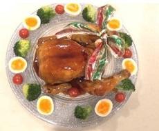 丸鶏 クリスマスチキン