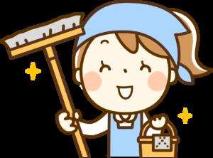掃除 女性 イラスト