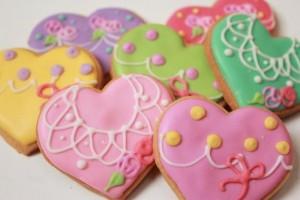 デコクッキー バレンタインデー