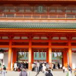 平安神宮の初詣2020!参拝時間やお守りは?混雑や駐車場は?