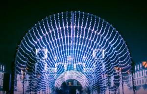 神戸イルミナージュ トンネル