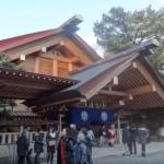 熱田神宮の初詣2018。混雑や屋台時間。アクセスや駐車場は?