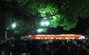 熱田神宮 初詣 夜間
