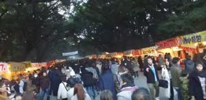 熱田神宮 初詣 屋台