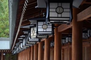 橿原神宮 灯篭