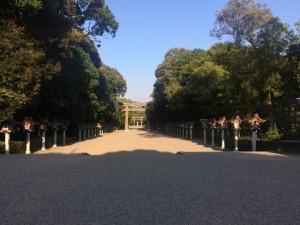 橿原神宮 参道