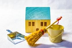 家 掃除道具 模型