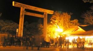 伊勢神宮 夜間 参拝
