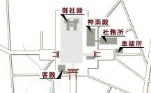 明治神宮 境内の地図