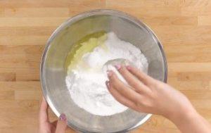 粉砂糖 卵白