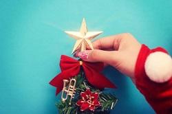 クリスマス セルフネイル