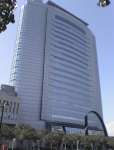 高崎市役所21階展望ロビー