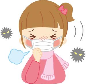 女の子 風邪
