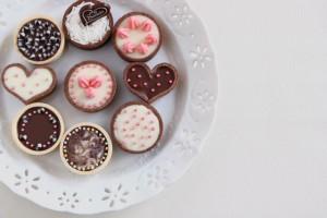 チョコ バレンタイン ハート
