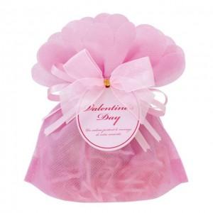 バレンタインデー ラッピングしたプレゼント