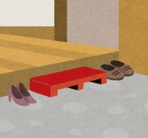 玄関 靴 イラスト