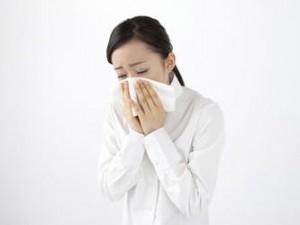 女性 鼻水