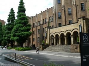 大学のキャンパス