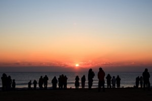 海岸 日の出