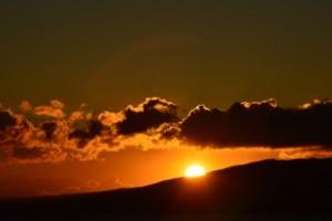 山 日の出