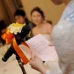 結婚式の新婦友人代表挨拶スピーチ(手紙)例文まとめ。