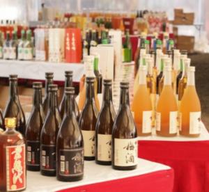 水戸偕楽園 梅祭り 梅酒祭り