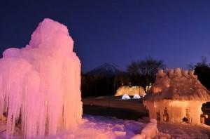 西湖・樹氷まつり