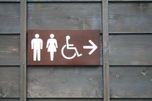 トイレ 看板