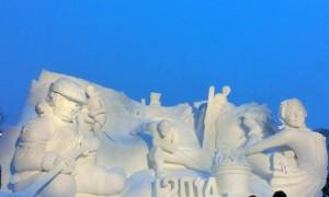 さっぽろ雪まつり 雪像 キャラクター