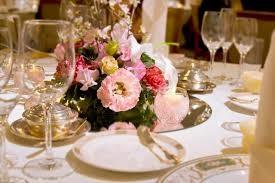 結婚式 テーブルセット