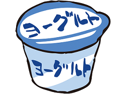 ヨーグルト 食べ物