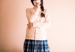 マスク 女性 咳