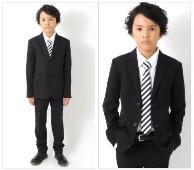 定番 黒 スーツ