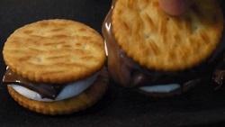手作り マシュマロサンドクッキー