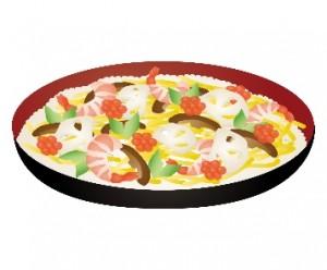 ちらし寿司 イラスト