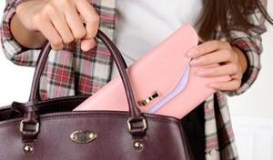 お財布 ピンク