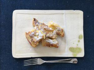 フレンチトースト 陶芸皿