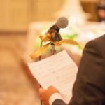 結婚式での父親のスピーチ例文。新郎新婦の父親の言葉。