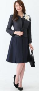 母親 卒業式 服装 黒