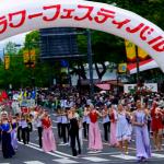 広島フラワーフェスティバル2016の日程。駐車場、交通規制