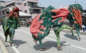 古川祭り 獅子舞