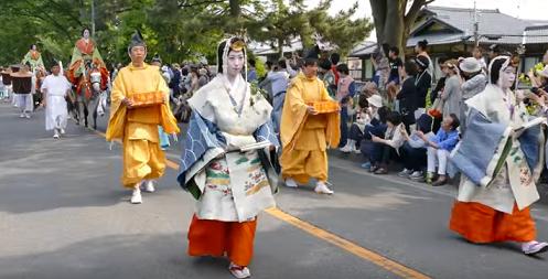 葵祭 行列