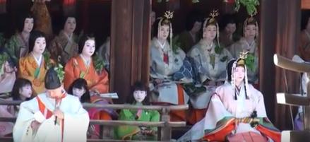 葵祭 社頭の儀