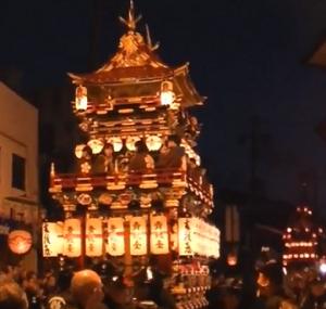 春 高山祭 夜祭