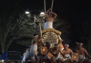 飛騨古川祭り 起し太鼓