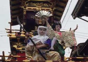 飛騨古川祭り 子供歌舞伎