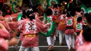 仙台青葉祭り すずめ踊り