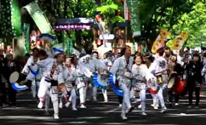 仙台青葉祭り すずめ踊り流し
