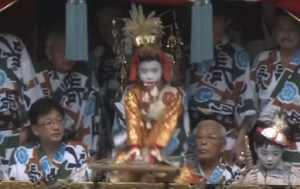 祇園祭 前祭 注連縄切り