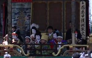 長浜曳山まつり 子供歌舞伎